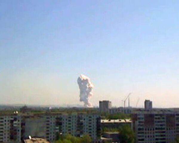 Взрыв в цеху дробления ферросплавного завода в Новокузнецке