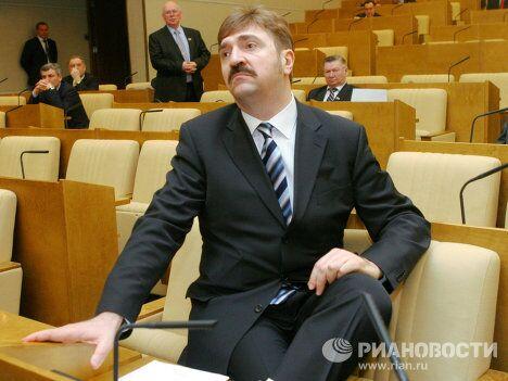Комиссаров на заседании Госдумы