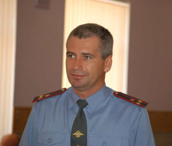 Глава ОВД Царицыно Александр Половинка