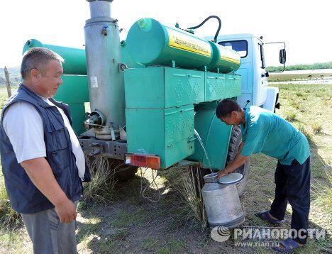 Паводковая ситуация в районе Кызыла из-за разлива Енисея