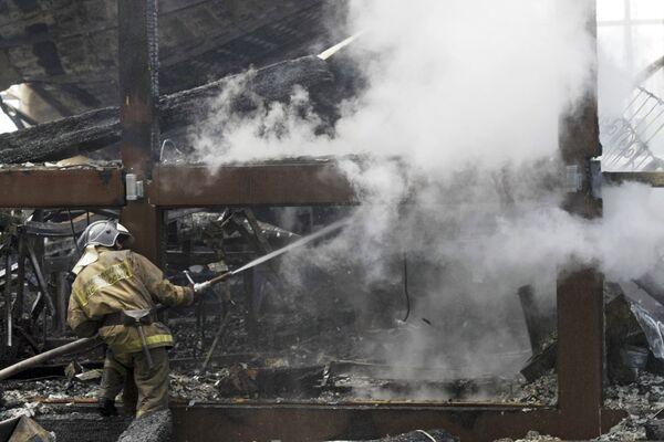 Пожар в ресторане Роял Бич Клаб