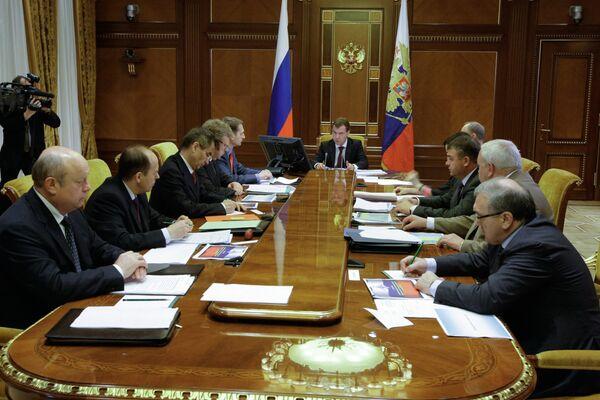 Дмитрий Медведев провел совещание по вопросам денежного довольствия военнослужащих