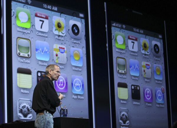 Презентация iPhone 4 компанией Apple в Сан-Франциско