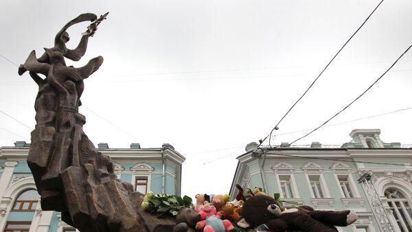 В Москве открыт памятник жертвам теракта в Беслане