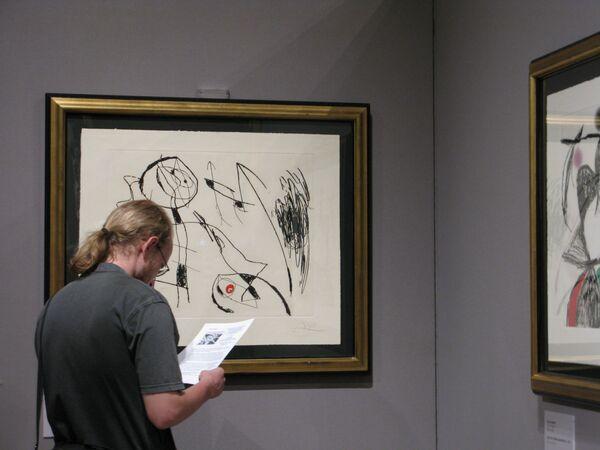 Выставка офортов Хоана Миро в ГМИИ им.Пушкина