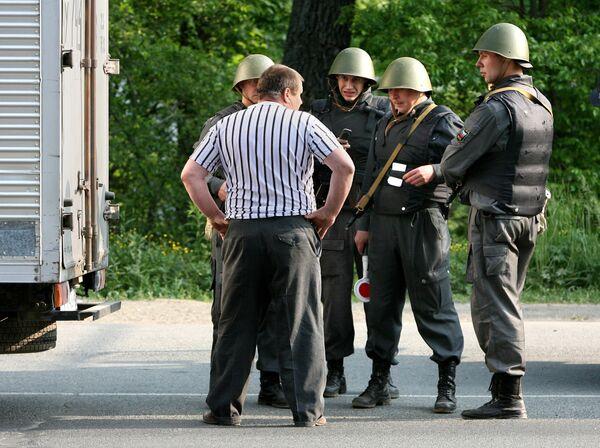 Поиск бандитов, напавших на милиционеров в Приморье
