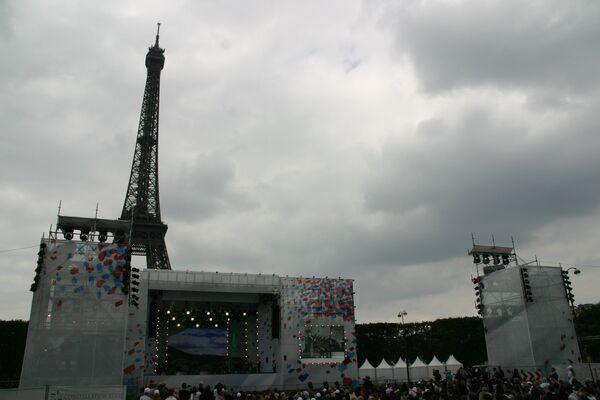 Празднование Дня России в Париже