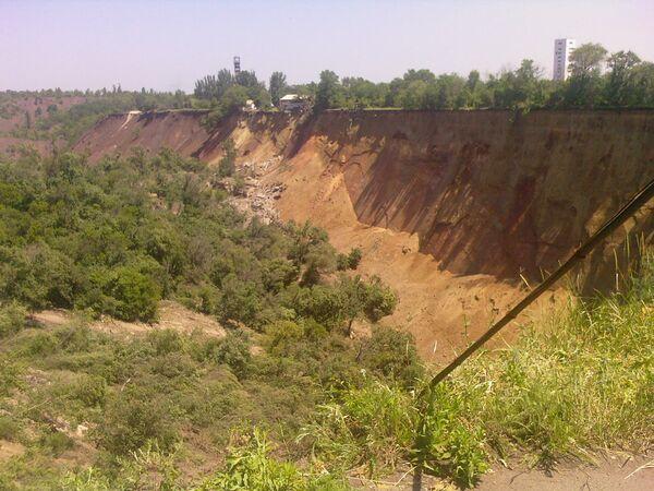 Последствия ЧП на шахте в Кривом Роге