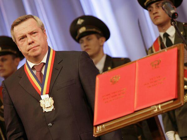 Инаугурация нового губернатора Ростовской области Василия Голубева