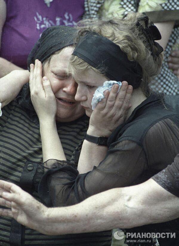 Жители Буденновска оплакивают погибших