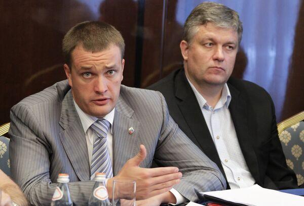 Андрей Ватутин и Гинес Рудкаускас. Архив