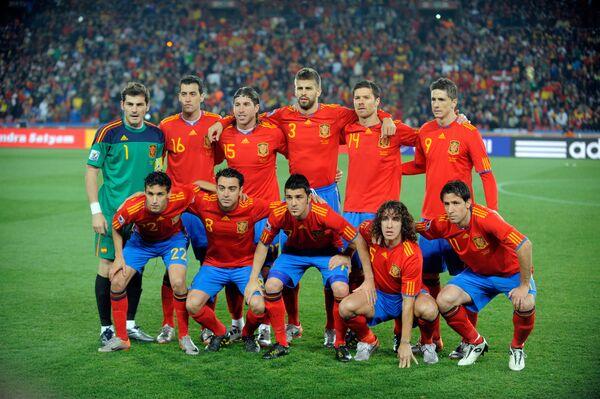 Сборная футбола испании