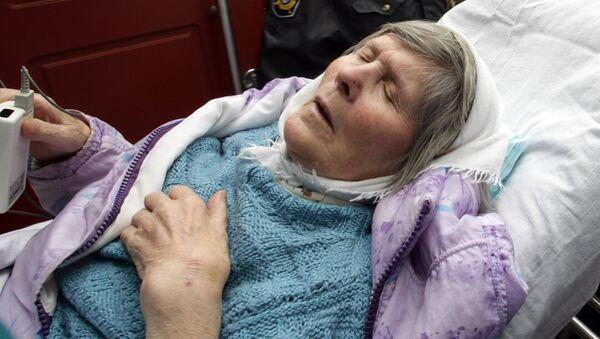 Пенсионерка Ирина Антонова прибыла из Финляндии в Россию