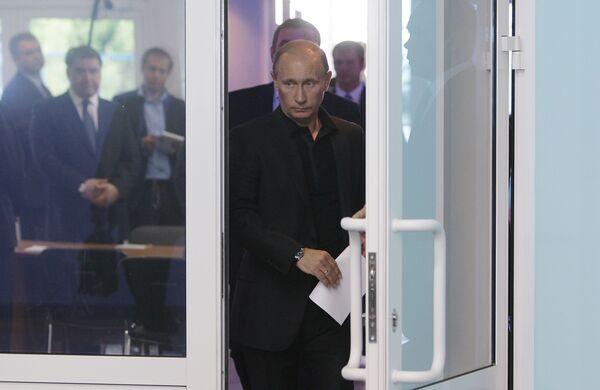 Премьер-министр РФ Владимир Путин провел совещание в Новокузнецке