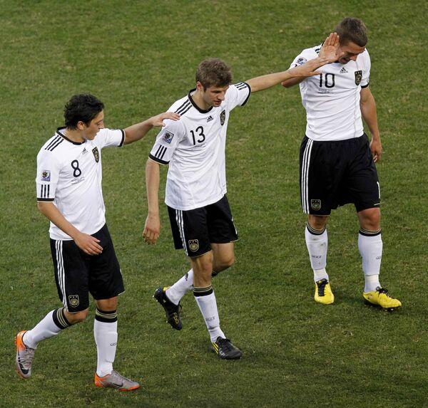 Футболисты сборной Германии. Архив