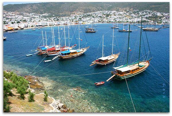 Прогулочные яхты в Бодруме