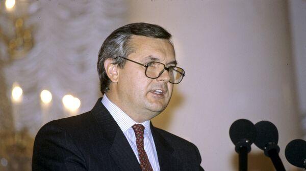 Бывший министр иностранных дел Латвии Янис Юрканс. Архив
