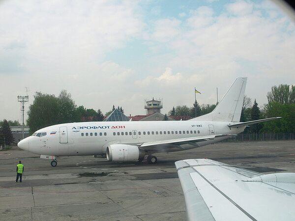 Самолет авиакомпании Донавиа, прежде именовавшейся Аэрофлот-Дон