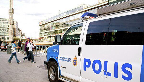 Полиция Стокгольма. Архивное фото