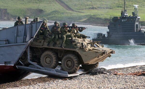 Оперативно-стратегические учения Восток-2010 прошли во Владивостоке