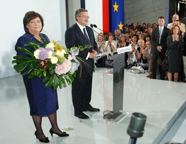 Президентом Польши избран Бронислав Коморовский