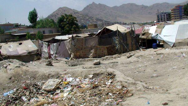 Кабульский лагерь беженцев. Архивное фото