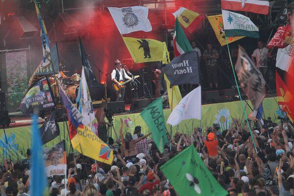 Рок-фестиваль Нашествие. Архив