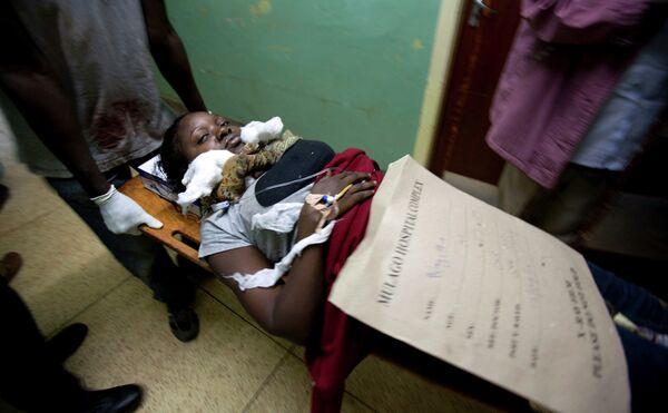 Пострадавшие от взрывов в Уганде