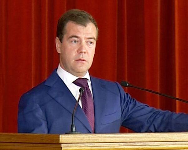 Стандарты демократии не могут быть навязаны - Медведев