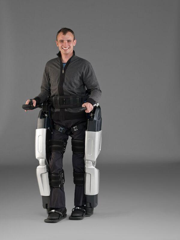 Пара роботизированных ног, созданная компанией Rex Bionics