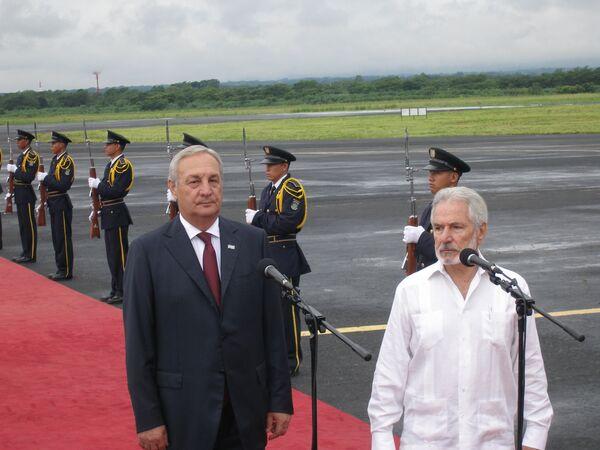 Президент Абхазии прибыл с официальным визитом в Никарагуа