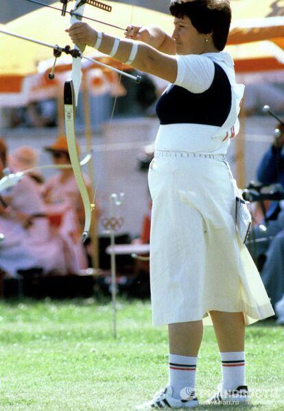 Олимпийская чемпионка 1980 года в стрельбе из лука Кетеван Лосаберидзе