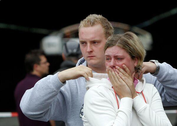 Трагедия на музыкальном фестивале Парад любви в Германии
