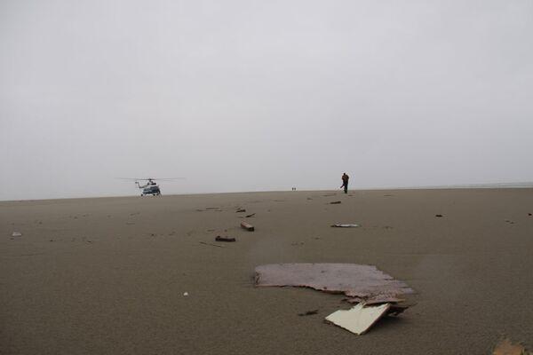 Поиски судна Варнек в Архангельской области