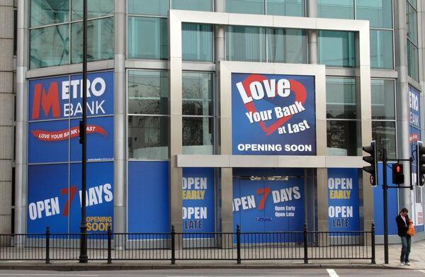 Полюбите наконец свой банк - гласит лозунг Metro Bank