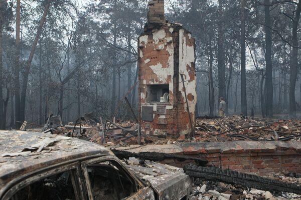 Пожары в Воронеже