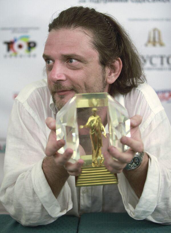 Режиссер Андрей Кавун, получивший гран-при Первого Одесского международного кинофестиваля