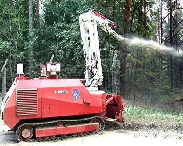 Пожар в зоне ядерного центра в Сарове потушили роботы