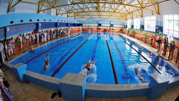 санпин вода бассейн