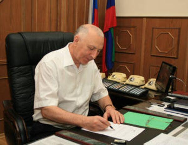 Министр внутренних дел по Республике Дагестан Али Магомедов