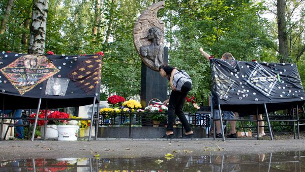 Годовщина гибели Виктора Цоя