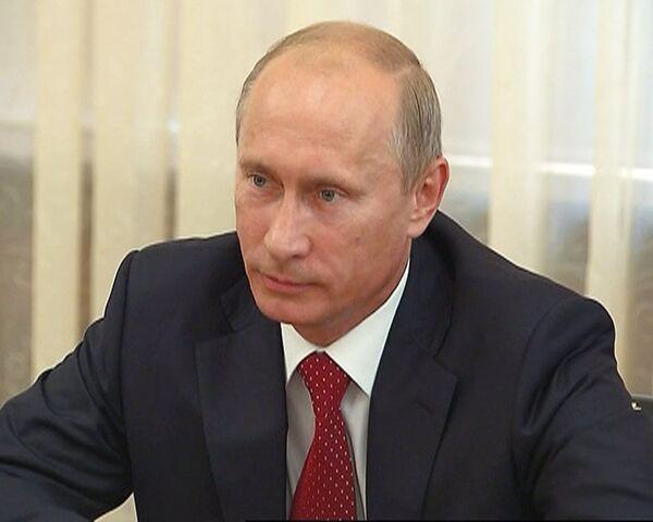 Путин готов отменить визы для участников ЧМ-2018