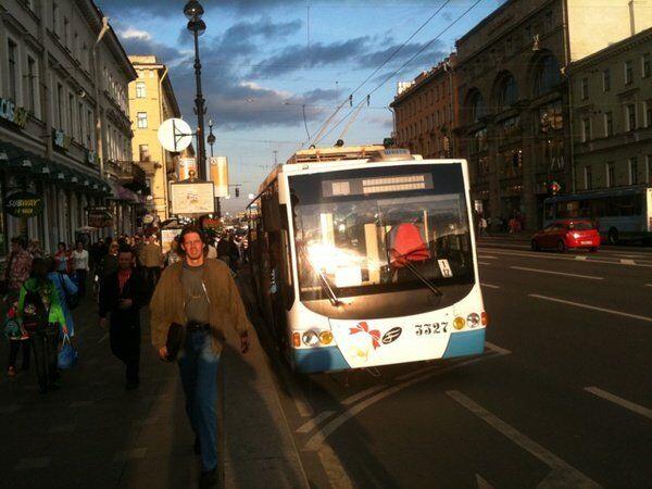 Отключение электроэнергии в Санкт-Петербурге