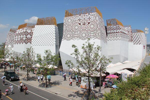 Российский павильон на Всемирной универсальной выставке в Шанхае