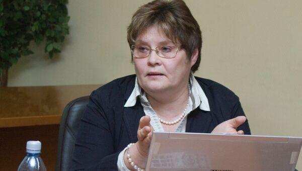 Директор Института образования ГУ-ВШЭ Ирина Абанкина