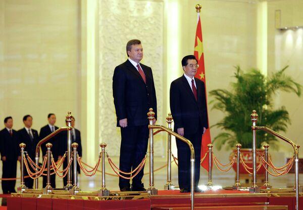 Визит президента Украины Виктора Януковича в Китай
