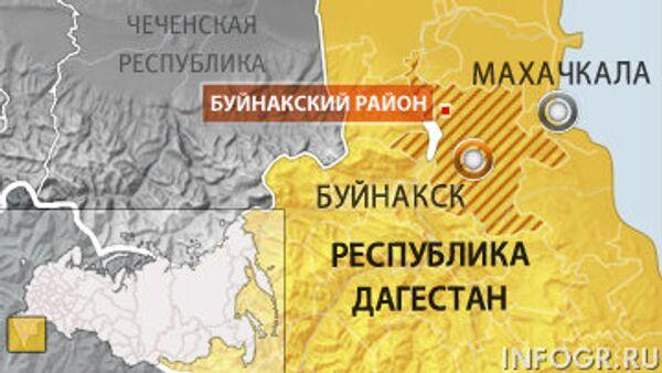 Буйнакск. Карта