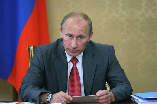 Владимир Путин. Архив.