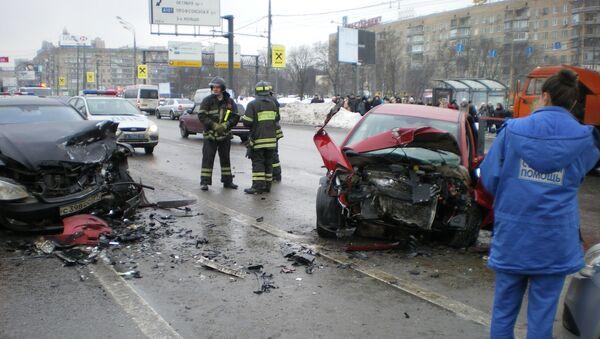 Столичные милиционеры доказали невиновность водителя Мерседеса вице–президента Лукойла в скандальной аварии на Ленинском проспект. Архив