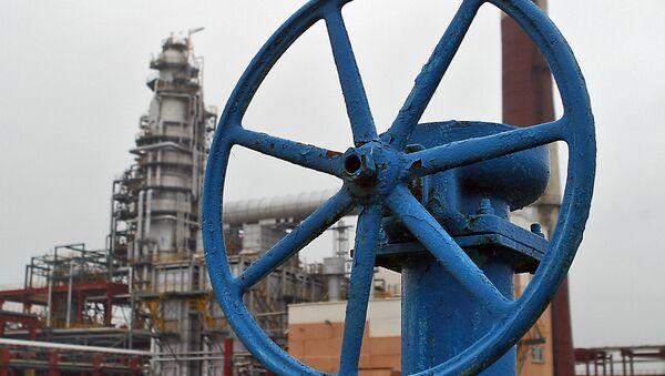 На белорусском нефтеперерабатывающем заводе. Архивное фото